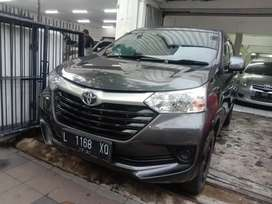 Toyota Avanza 1.3 e manual 2017 abu abu metalik