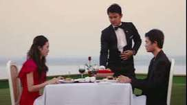 Waiter require in Resort / Restaurant at Alibaag