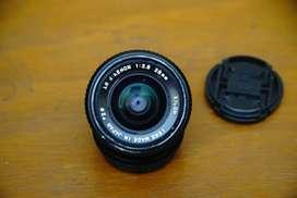 Lensa Manual Ricoh Rikenon XR 28 mm f 2.8
