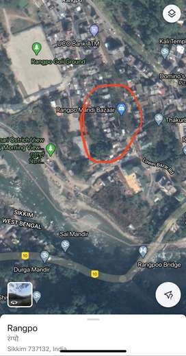 Land for sale in Rampu Sikkim