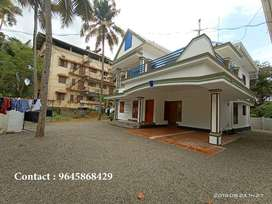 3 BHK Fully furnished Apartment for rent near Carithas-Kottayam