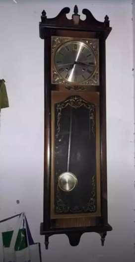 Jam dinding antik kuno lawas ( NEGO )