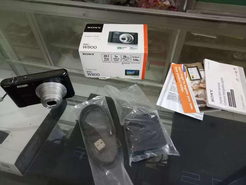 SONY 20MP 5X Dsc W800 Mulus Lengkap Kamera Digital Camera Poket Pocket 0