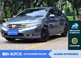 [OLXAutos] Honda City 2012 1.5 E A/T Bensin Abu-abu #Allison