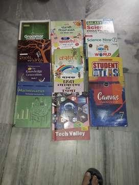 7th class books MGM Public school