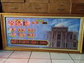 Jam masjid abadi digital