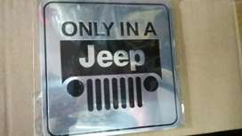 only in a jeep thar logo