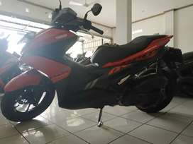 Yamaha Aerox merah 2019 cash kredit