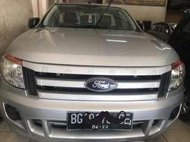 Ford ranger tahun 2014 single cabin 4x4 plat Bg kondisi mulus sekali