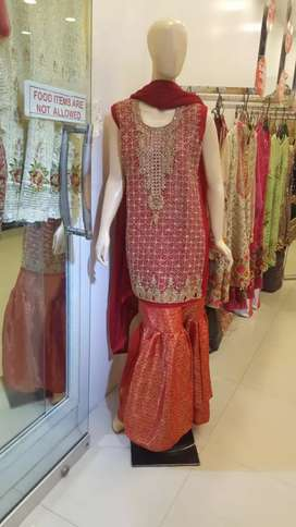 Party wear stitched dresses available