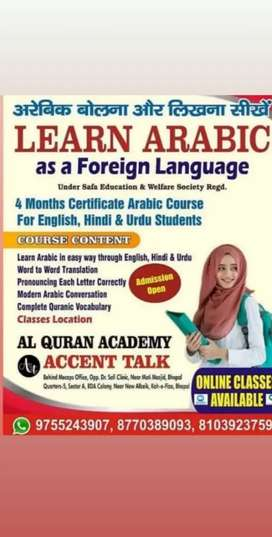 Learn modern Arabic and English language
