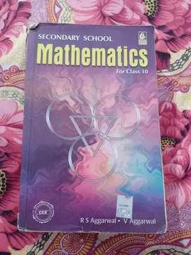 Re Agarwal class 10 maths book