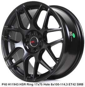 wheel P40 11943 HSR R17X75 H8X100-114,3 ET42 SMB