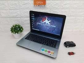 Zona Computer wts Laptop Asus X441S siap UNBK ada bonus dan bergaransi