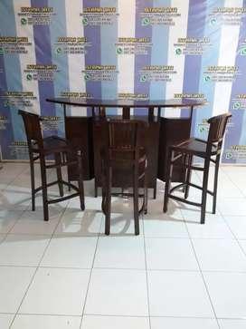 meja bar cantik istana jati