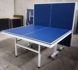 Tennis meja pingpong lipat bahan mdf siap antar