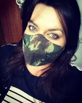 Washable mask in cotton fabric