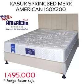 Kasur Springbed Merk American 160x200 | ANEKA KASUR