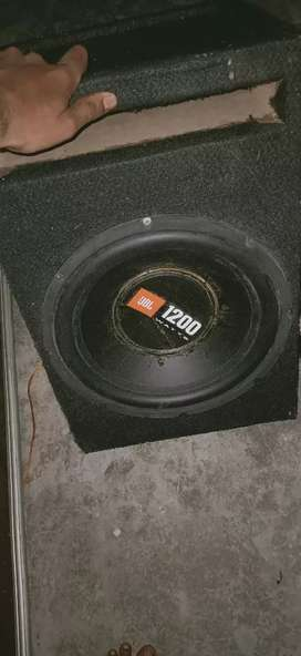 Good condishan JBL BASS 3 MONTH OLD rs2500