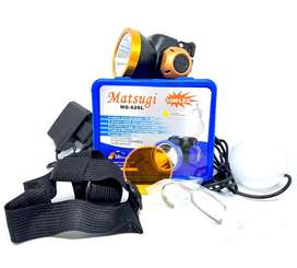 SENTER KEPALA LED MATSUGI MG 626L 15 WATT