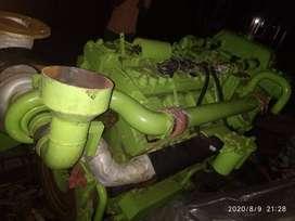 GREAVES MAKE 362 HP TVD3V8 ,2100 RPM , HEAT EXCHANGER COOLED , ENGINE