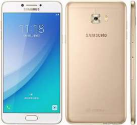 Samsung Galaxy C7 pro 2 years old brand new condition golden colour