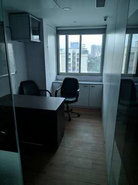 Fully Furnished Commercial Office with Washroom , Pantry , Cafeteria ,