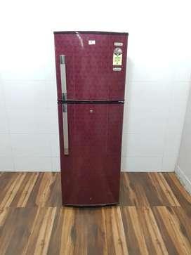 Videocon flower model 245 litre double door refrigerator