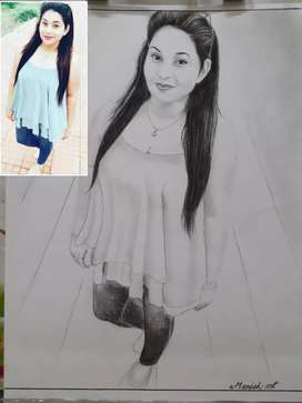 Sketch rs.300