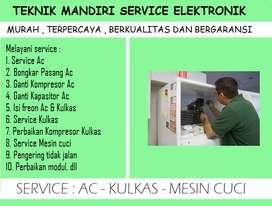 Panggilan service Kulkas Panasonic & Mesin cuci   service Ac 2PK bocor