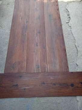 karpet Vinyl motif kayu