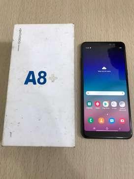 Samsung Galaxy A8+ 6/64 SEIN Lengkap Ori