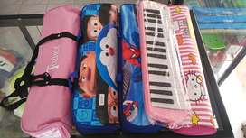 PALING BARU Pianika Pink Hello Kitty Doraemon Spideman