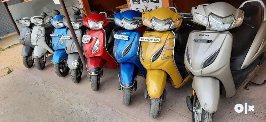 HONDA ACTIVA 5G 2019 model Grey color 5000km runs only 0