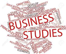 O & A Level Business Studies Tuition