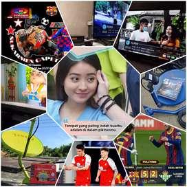 Parabola handal jernih berkualitas murah antena tv bangkalan
