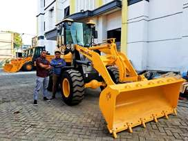 Wheel Loader Murah di Mataram Power Tinggi Turbo Bergaransi
