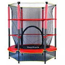 55 inch Trampoline With External With Safety Net.