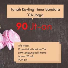 Potong Harga 25% Kavling 1 Jt-an SHM-P Kulon Progo