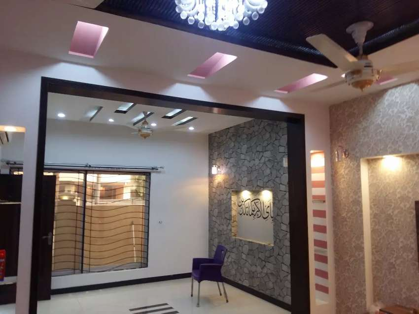 Bahria town 10 marla house for rent in chambli block 0