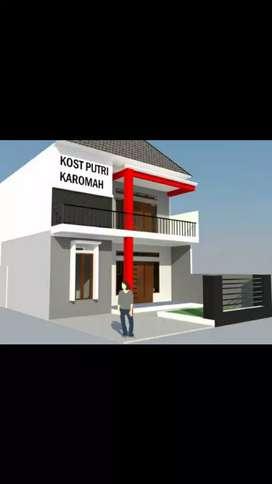Rumah kos exclusive 2 lantai murah