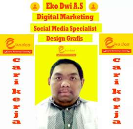 Cari kerja digital marketing specialist konten mobil motor otomotif