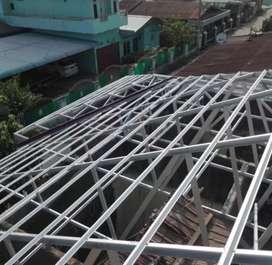 melayani pemasangan atap baja ringan DAYA TAHAN TERJAMIN