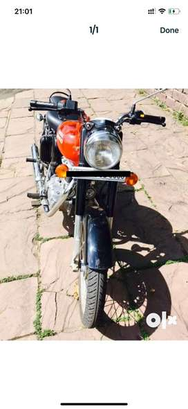 Excellent condition bullet motercycel