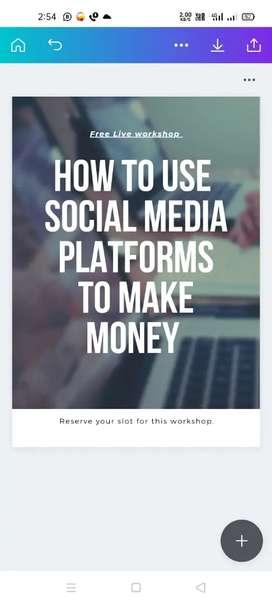 Digital enterpreurship project work from home