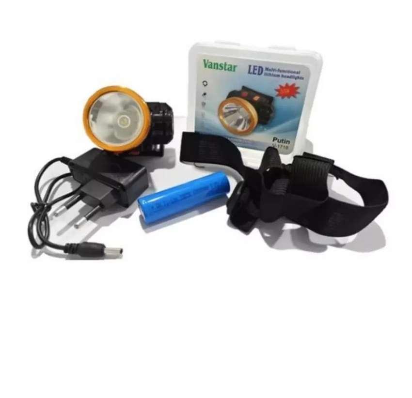 Senter Kepala Lithium Core V-1718 / Headlamp Lithium 35W 0