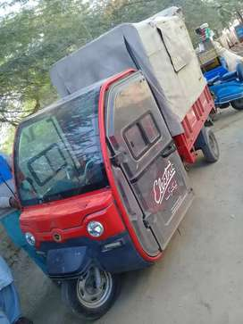 red auto car + loader 200 cc new engin nd parts