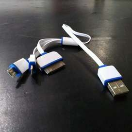 Kabel Fast Charging 3in1