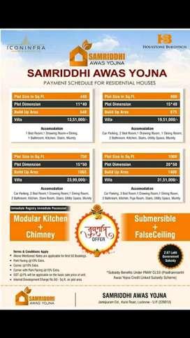 Apne sapno ka ghar Kam budget me kursi road Lucknow
