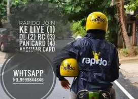 Rapido bike taxi